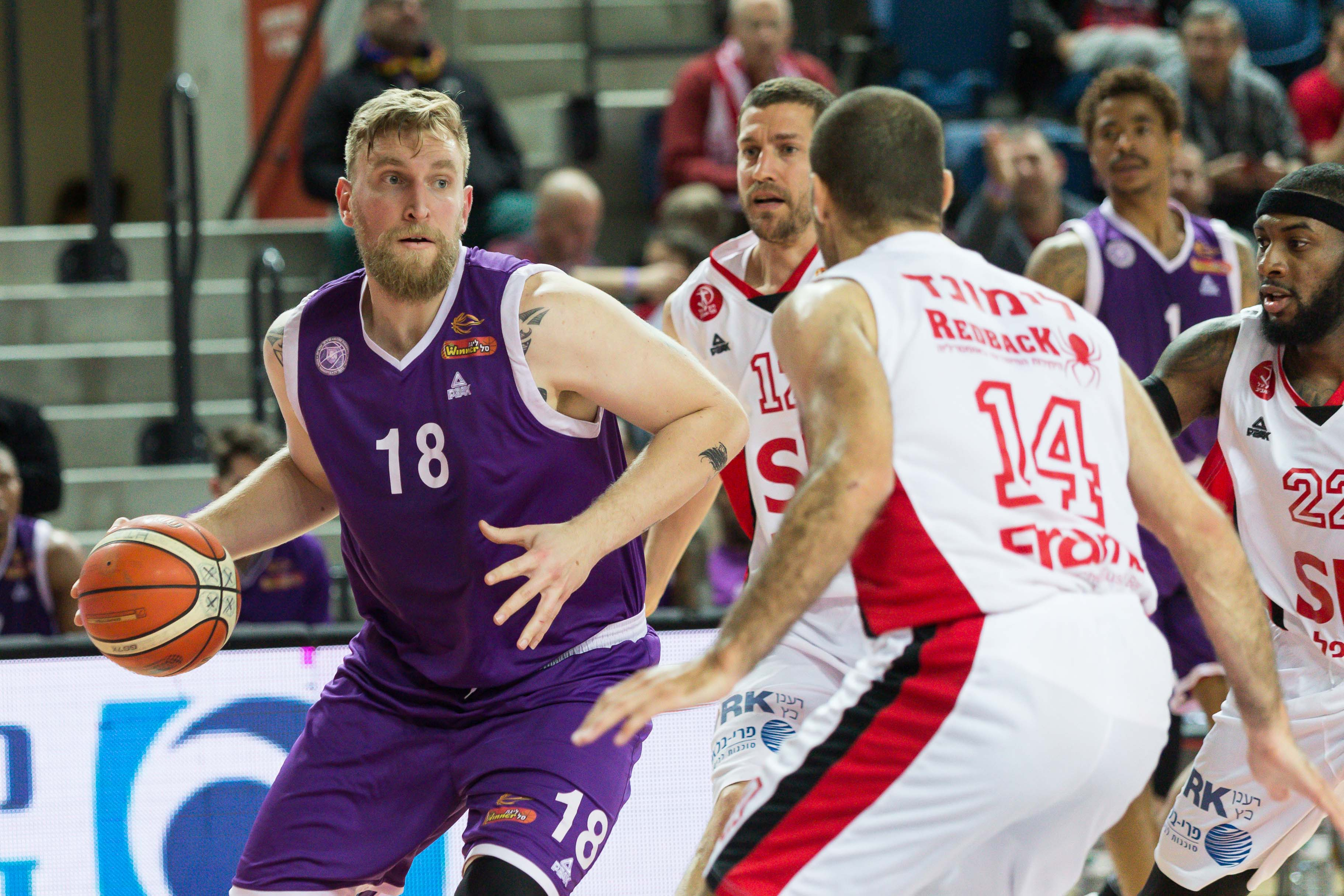 Ironi Nahariya's 30-assist road game