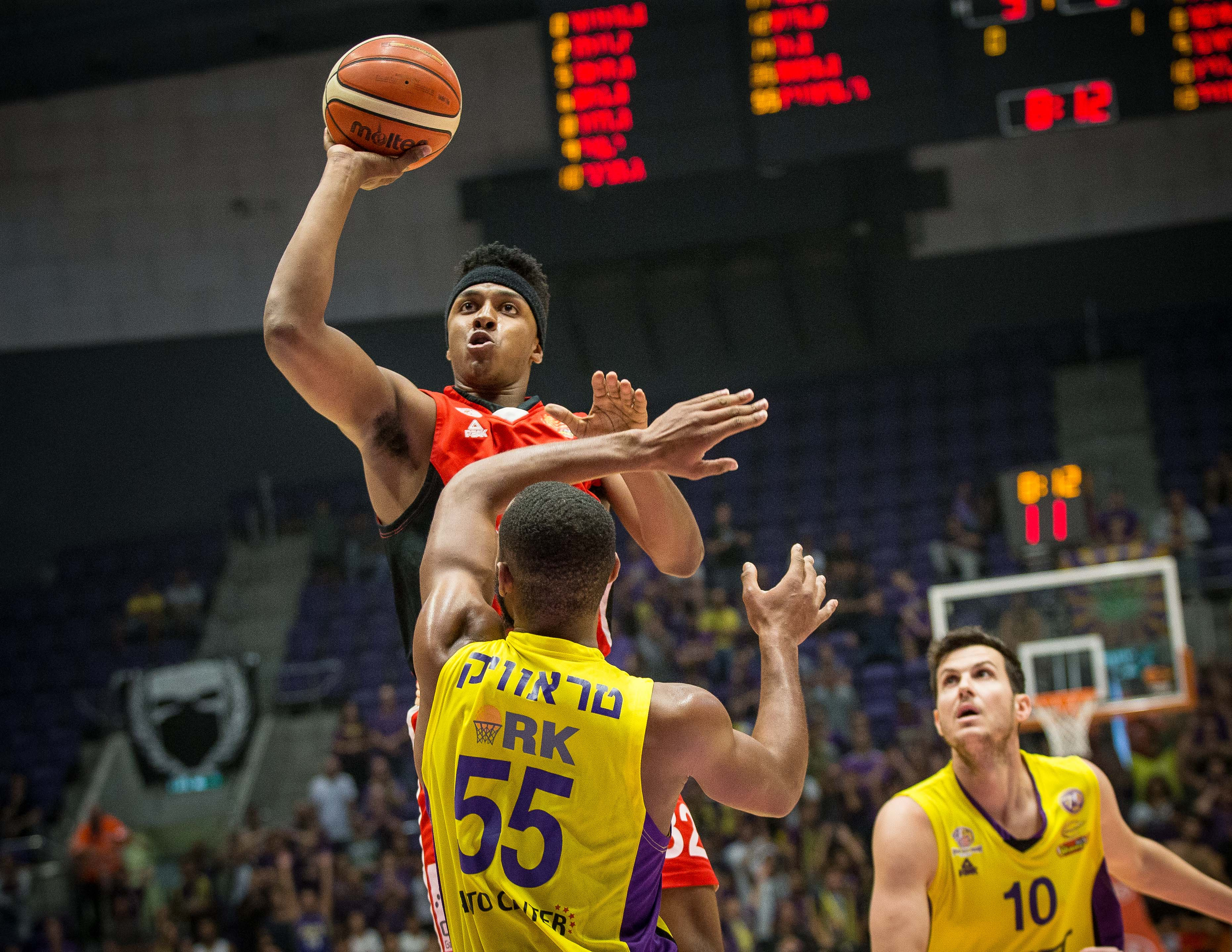 Winner Cup, 1/4 Finals: Hapoel Holon - Gilboa/Galil 73:82
