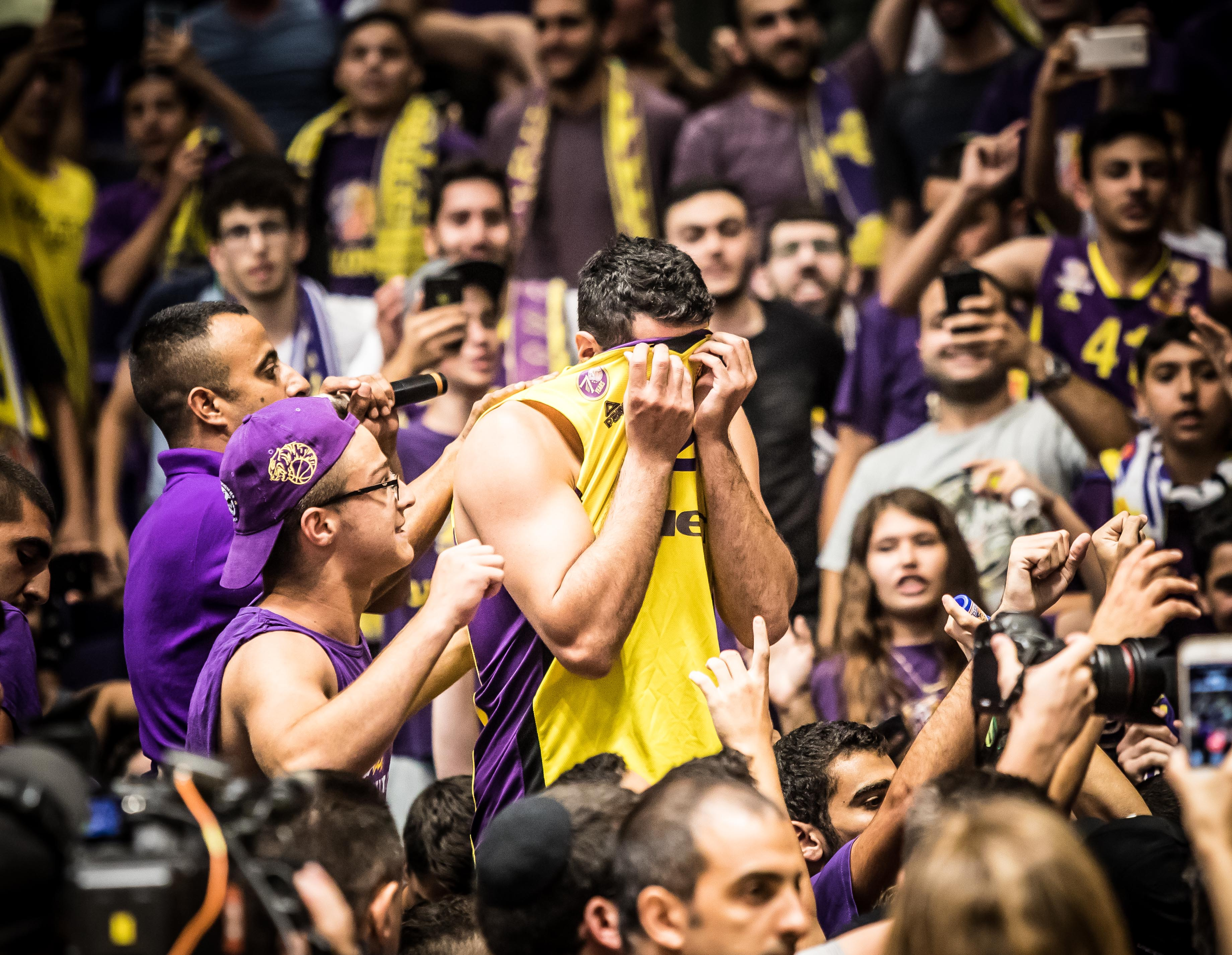 1/4 Finals, Game 5: Hapoel Holon - ...