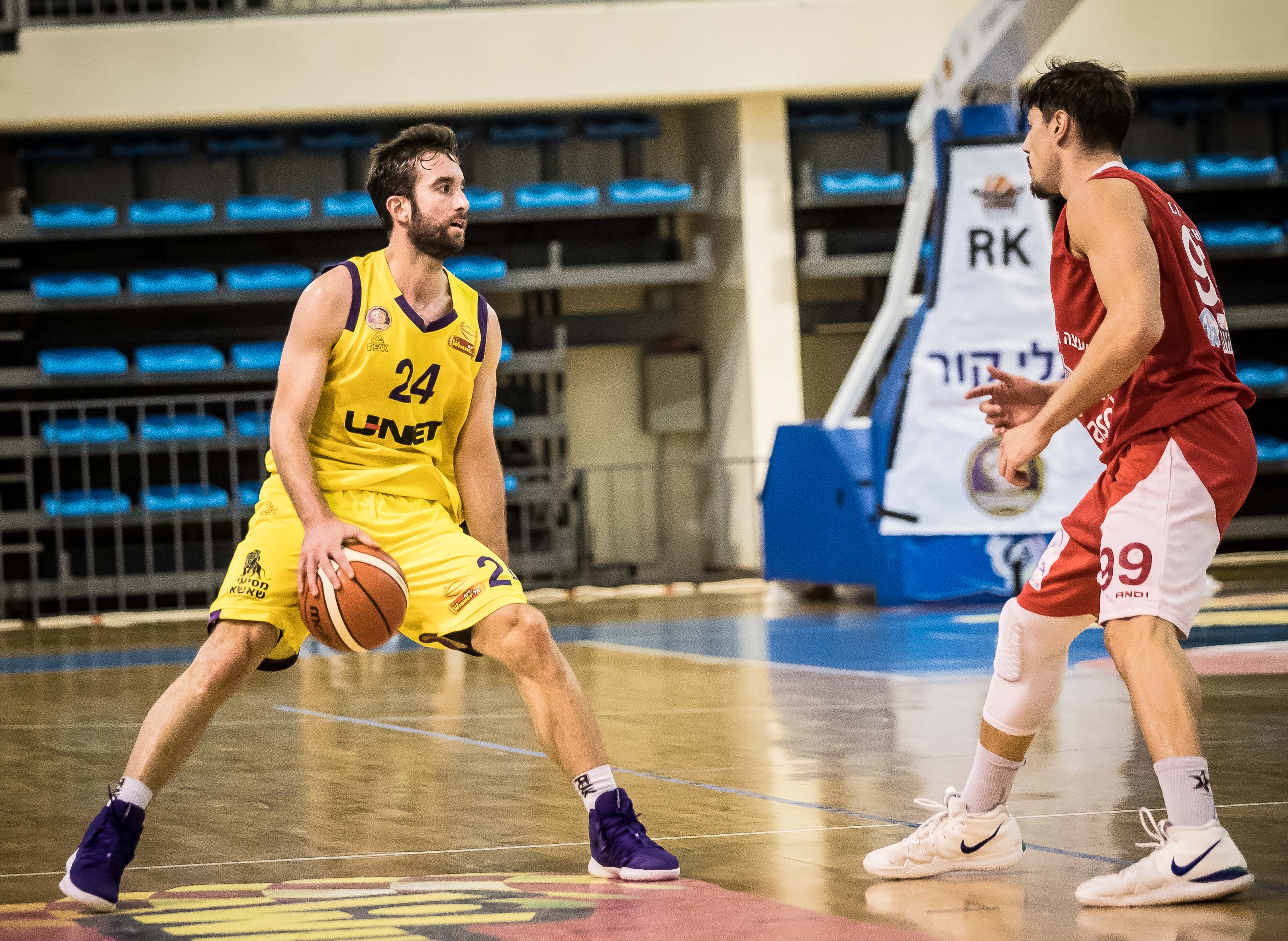 1/4 Finals, Game 1: Hapoel Holon - ...