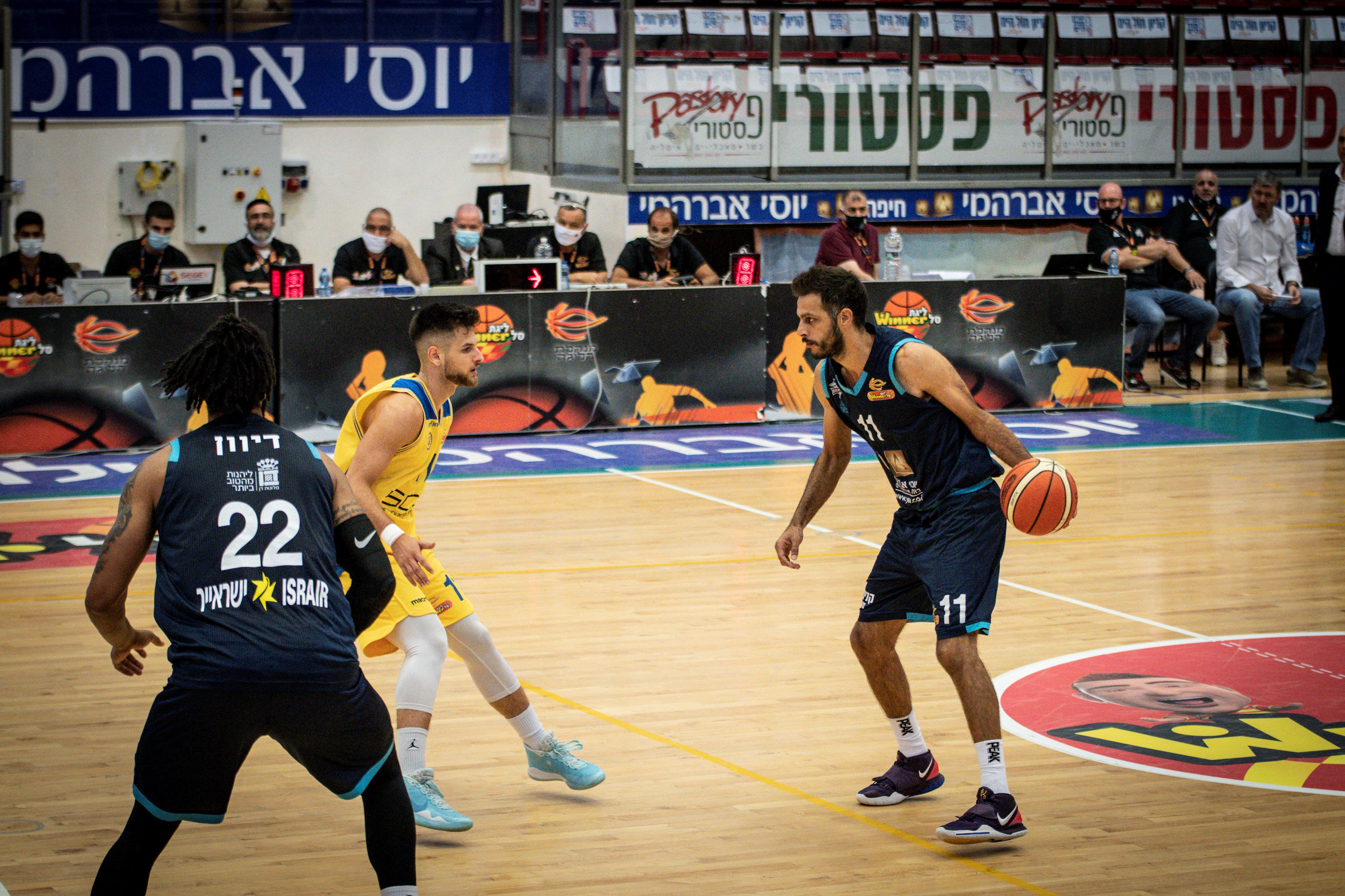 Lower Group, Day 2: Eilat - Ashdod 93:87