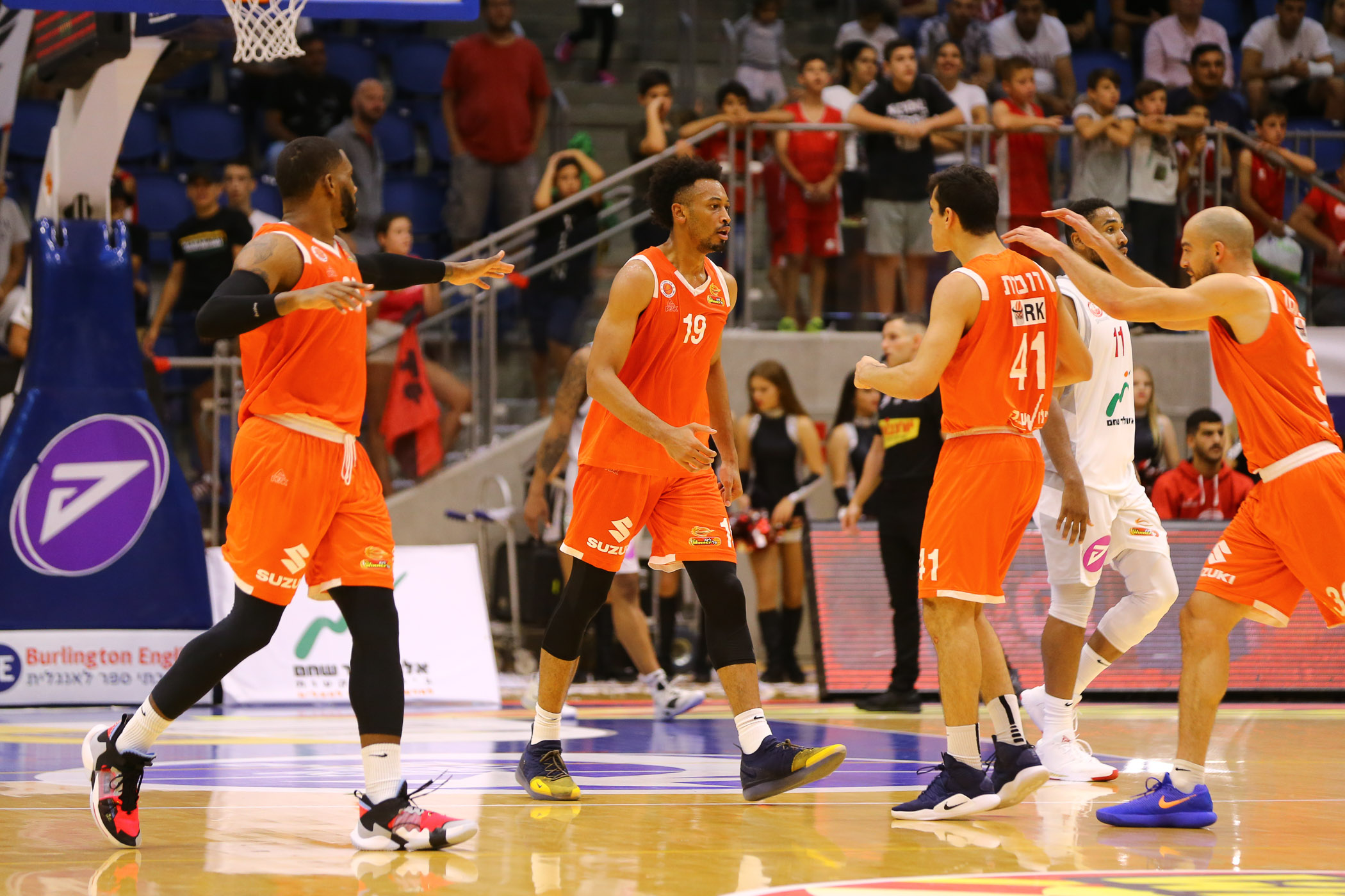 Day 2: Be'er Sheva - Maccabi Rishon 69:75