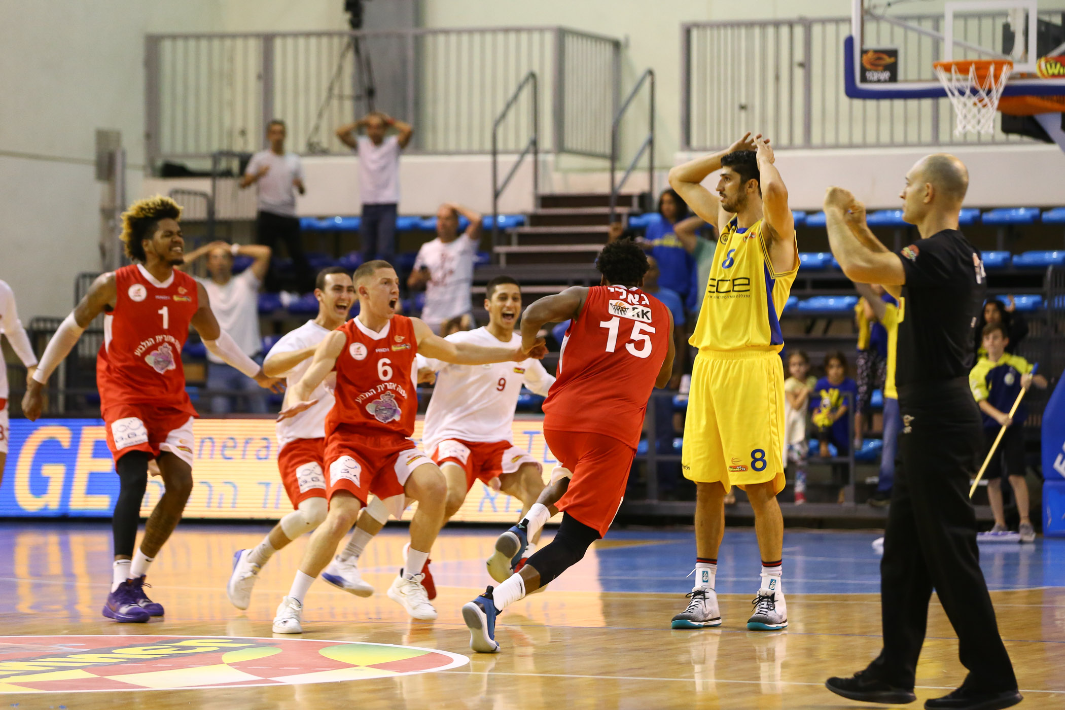 Day 4: Ashdod - Gilboa/Galil 89:91, OT