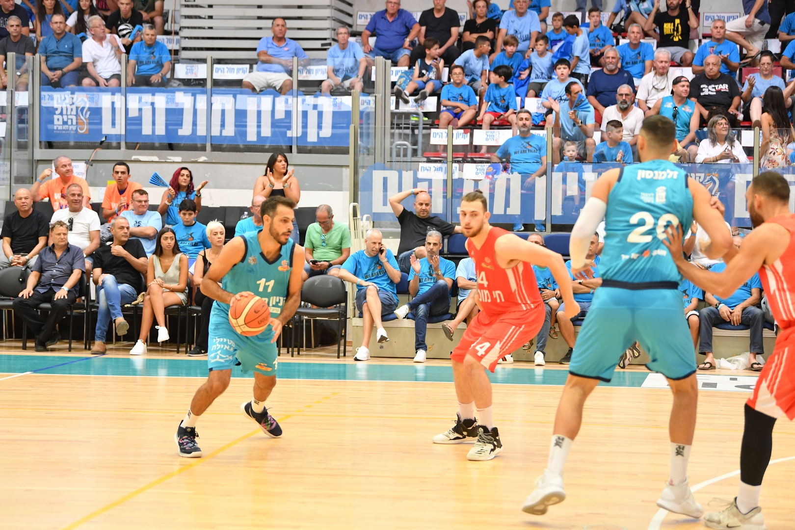 1/4 Finals, Game 3: Hapoel Eilat - Ness Ziona 84:76
