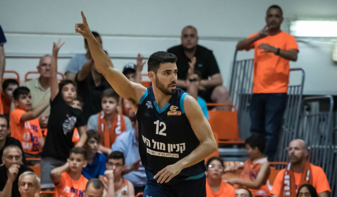 1/4 Finals, Game 4: Ness Ziona - Hapoel Eilat 90:98