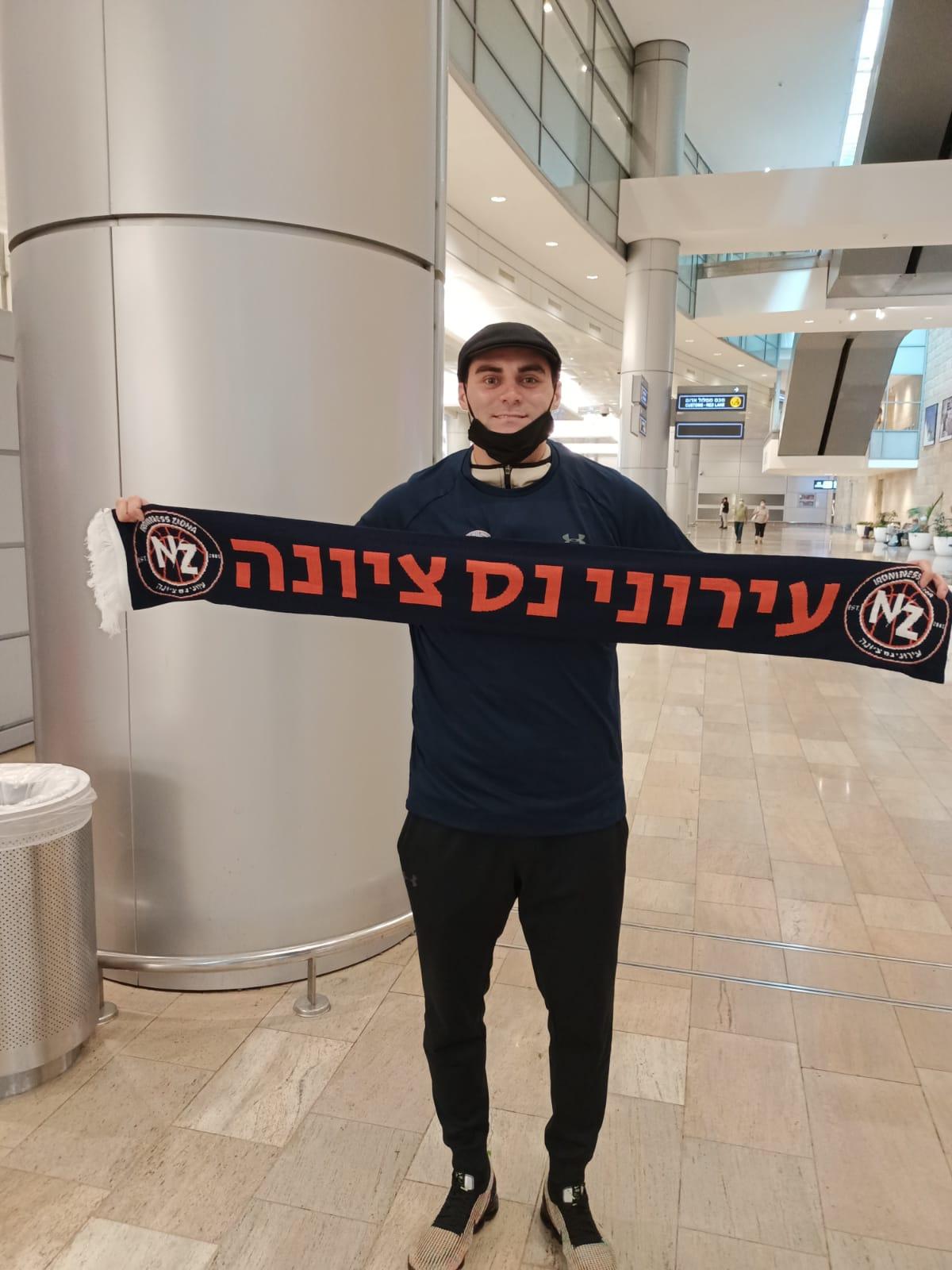 מאט פארל נחת בישראל!