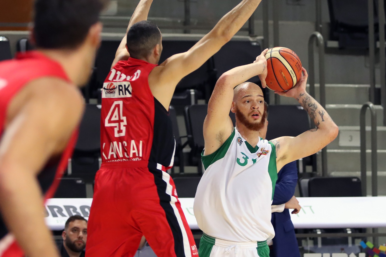 The Greens with a tough loss to Hapoel Tel Aviv
