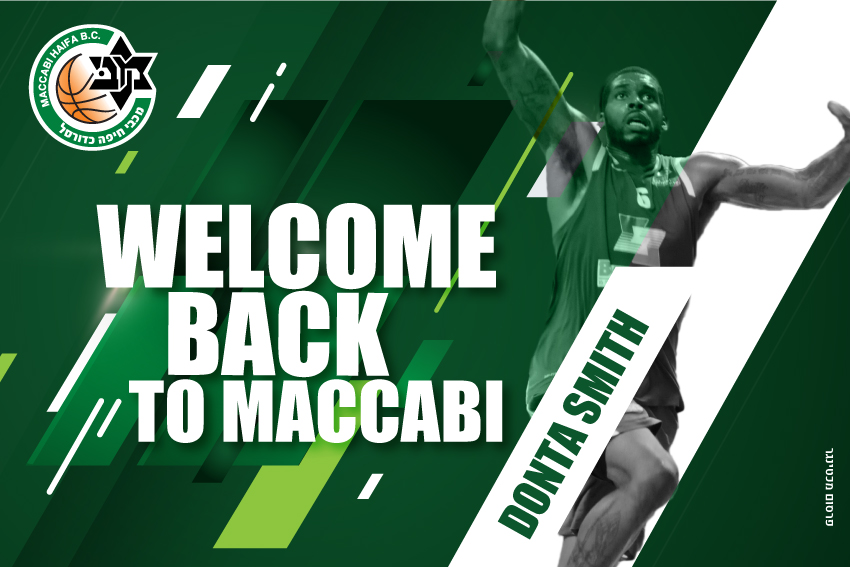 He's back! Donta Smith signed with Maccabi ...