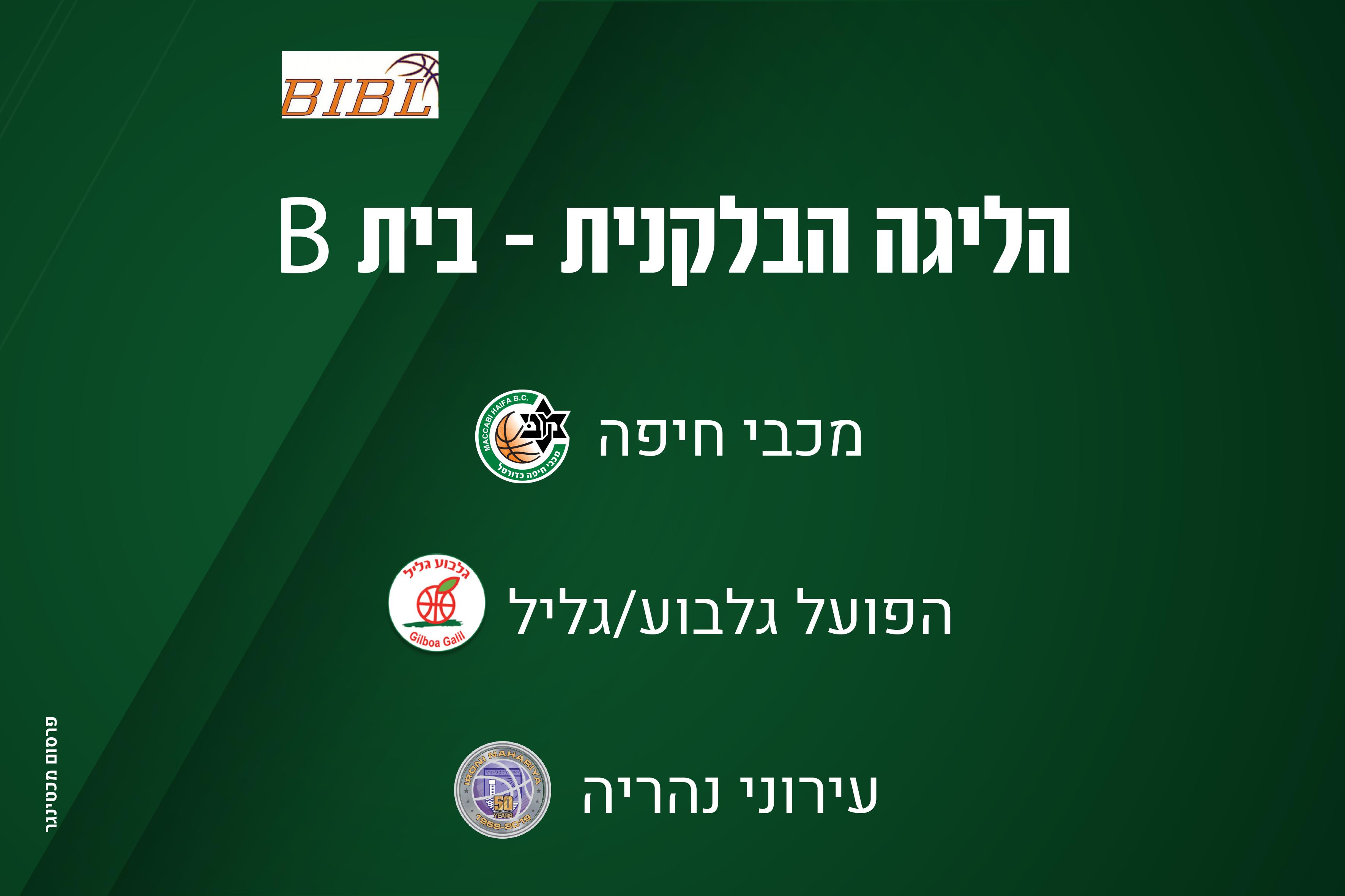 מכבי חיפה תשחק בבית B במסגרת הליגה הבלקנית