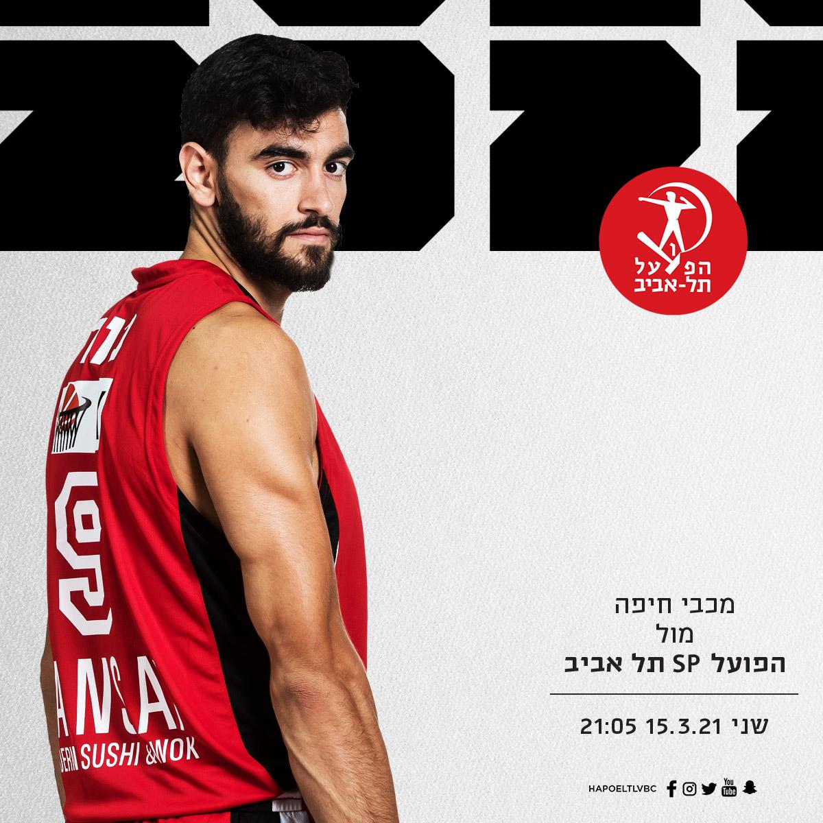 הערב: הפועל עולה לקרב בחיפה